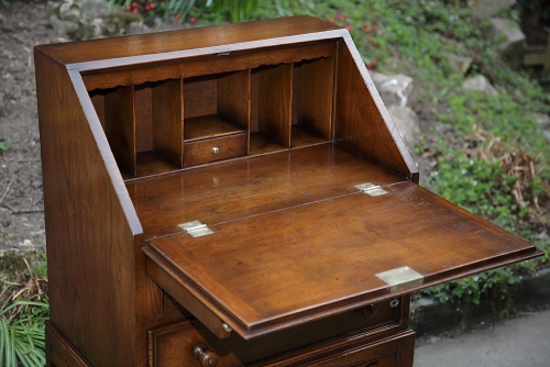 office bureau desk modern day carved oak bureau desk writing table office drawers former