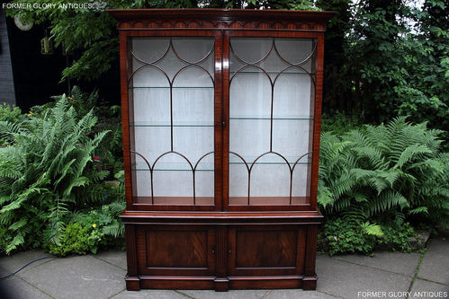BEVAN FUNNELL STYLE MAHOGANY CHINA / DISPLAY CABINET