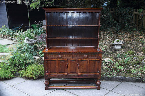 A RUPERT GRIFFITHS CARVED OAK DRESSER / SIDEBOARD