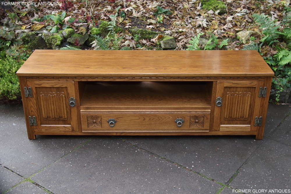 Fine A Wood Brothers Old Charm Vintage Oak Tv Cabinet Base Download Free Architecture Designs Grimeyleaguecom