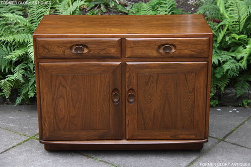 AN ERCOL WINDSOR GOLDEN DAWN SRORAGE CABINET / SIDEBOARD / DRESSER BASE